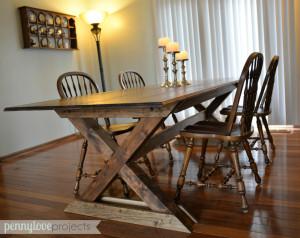 DIY Pottery Barn Table