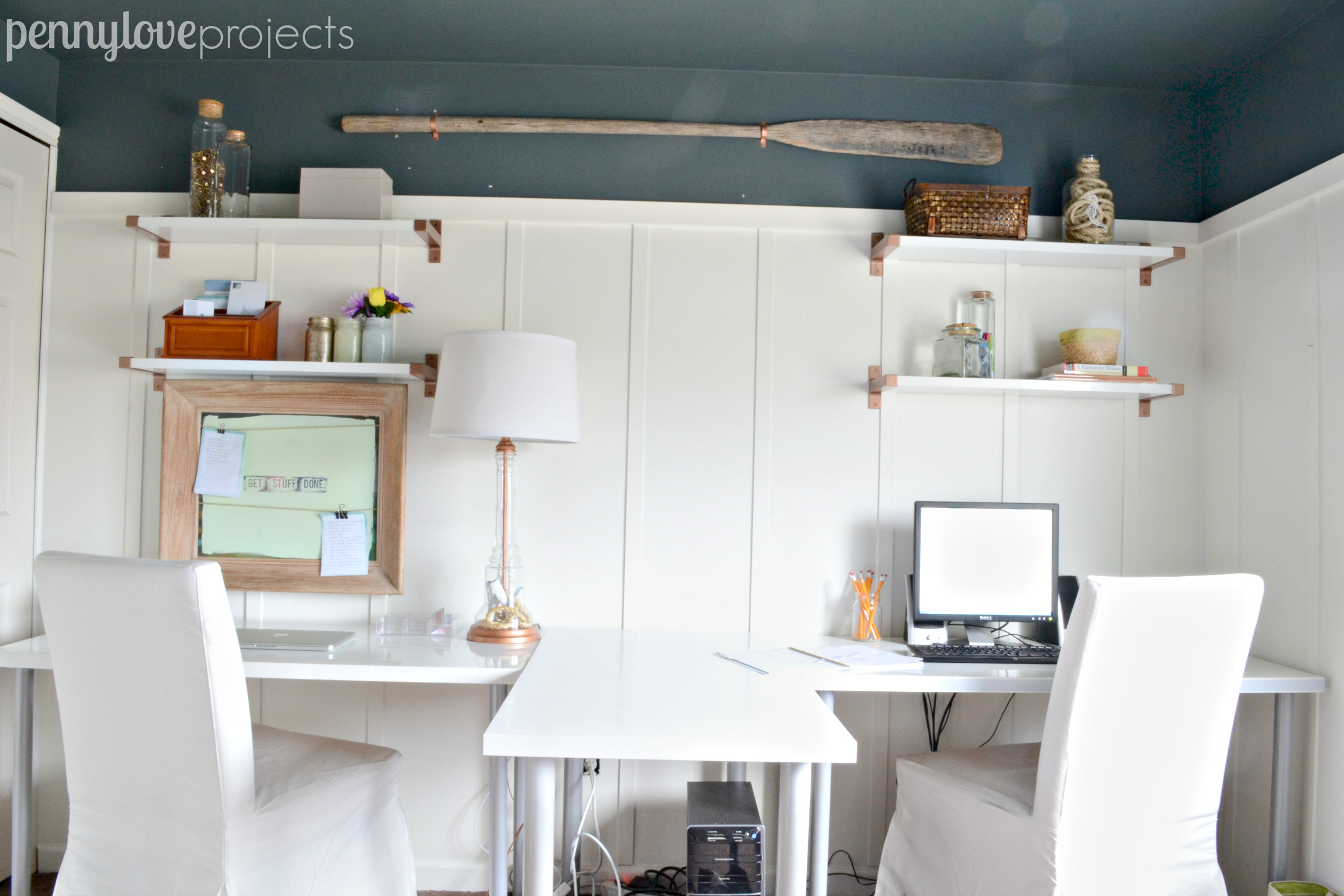 Office Makeover Series Part 4: Painting Ikea Furniture