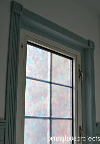 penny love projects powder room window