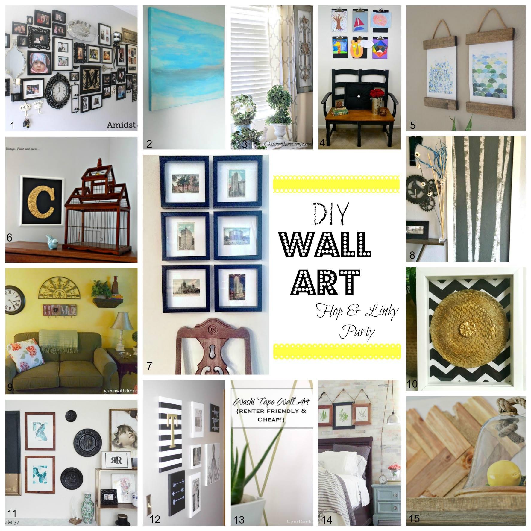 DIY Vintage Postcard Gallery (& how to cut matte frames) (&& Blog ...