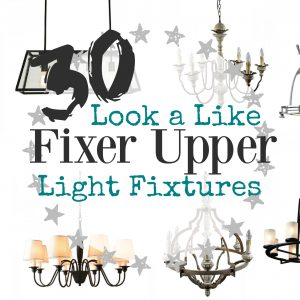 Fixer Upper Lights Inspired by Joanna Gaines