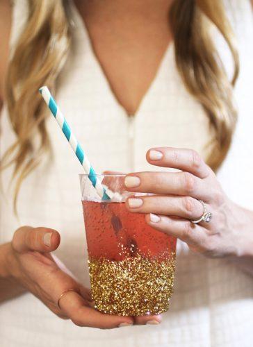 DIY-Glitter-Dipped-Cups