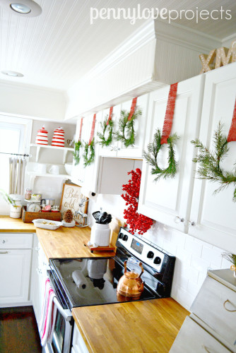 Holiday Home Tour 2015 Kitchen