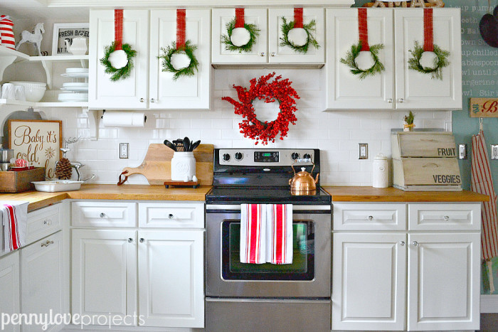 Holiday Home Tour View of the Stove