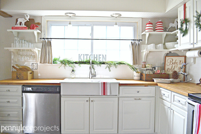 Holiday Home Tour View of the Window