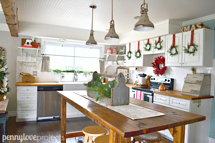 Holiday Home Tour with Penny Love Projects