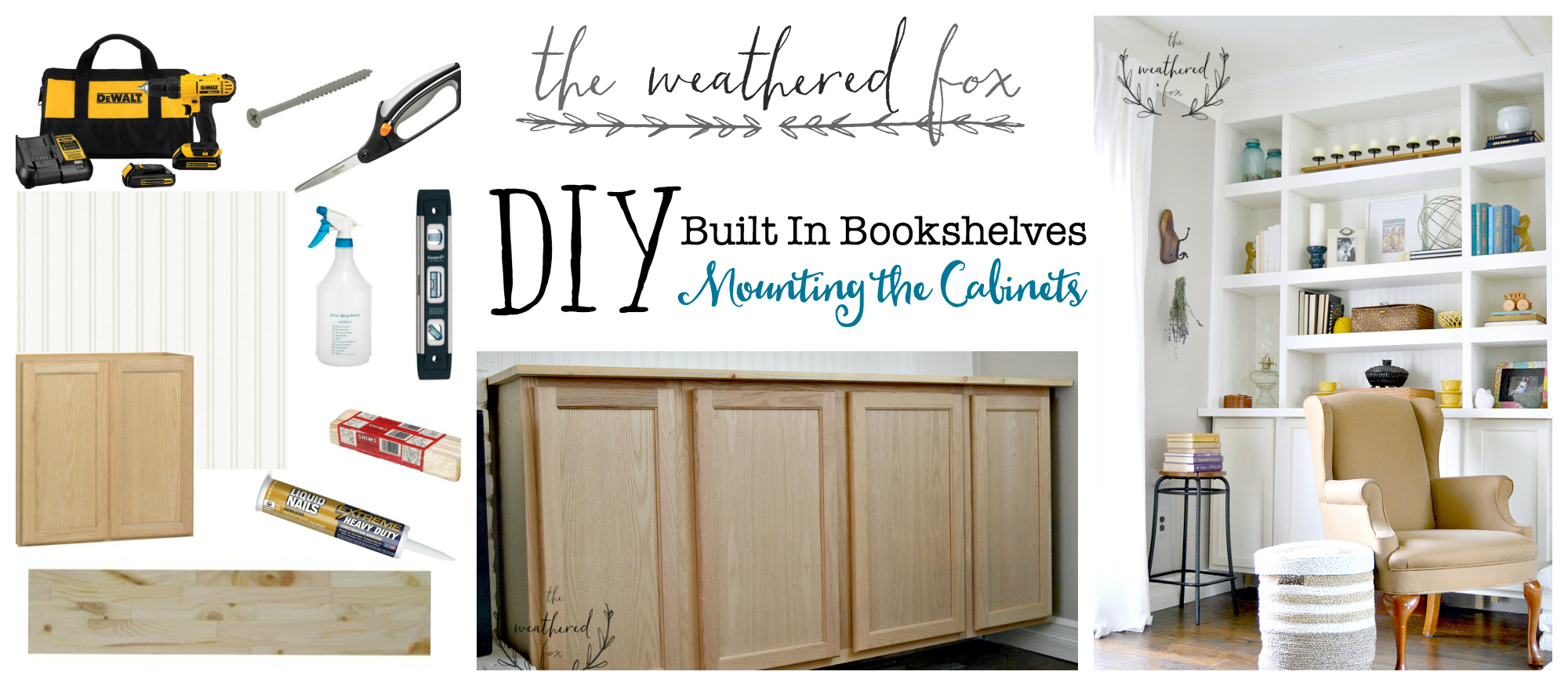 Built Ins Diy Seriously The Easiest Tutorial I Have Found For In Bookshelves