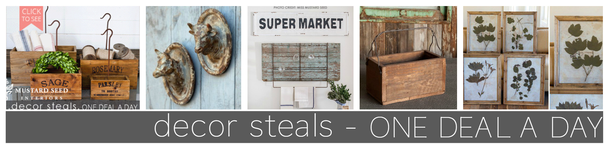 DECOR STEALS