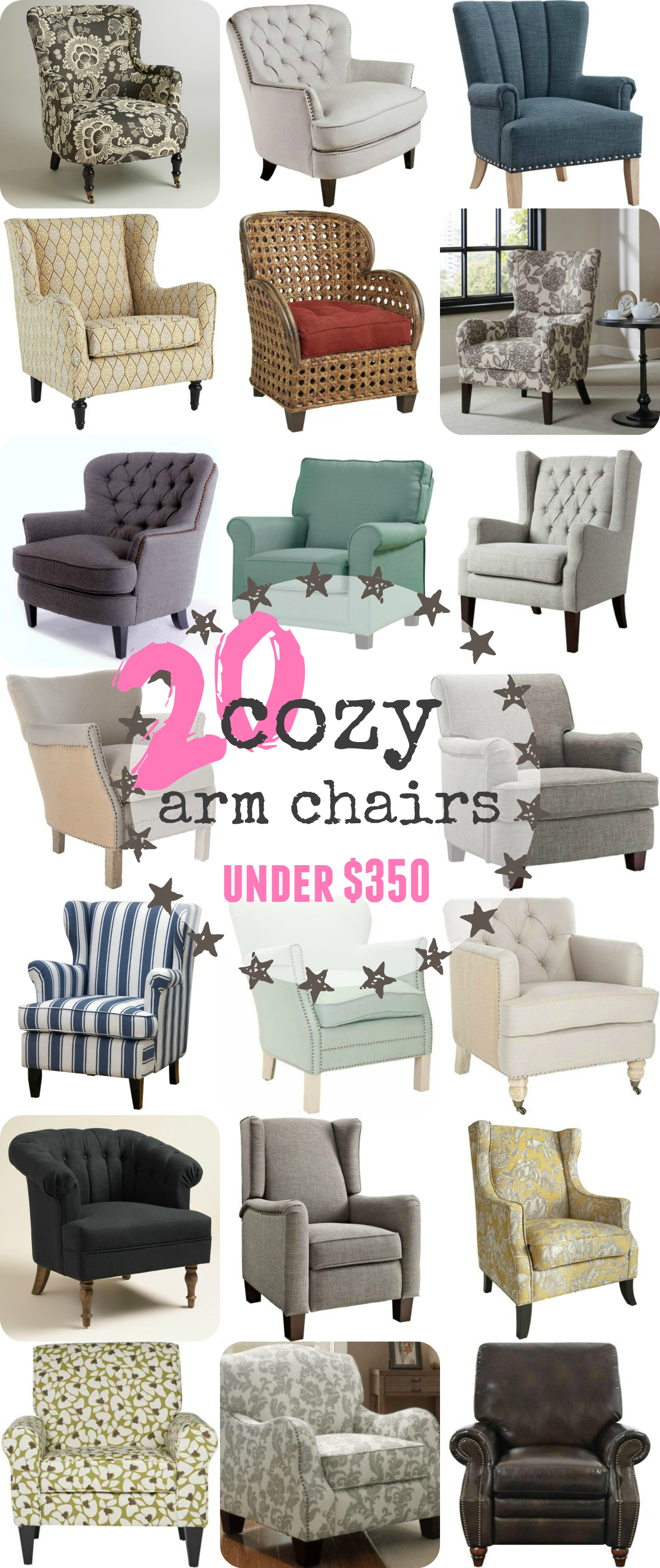 20 cozy reading chairs under $350