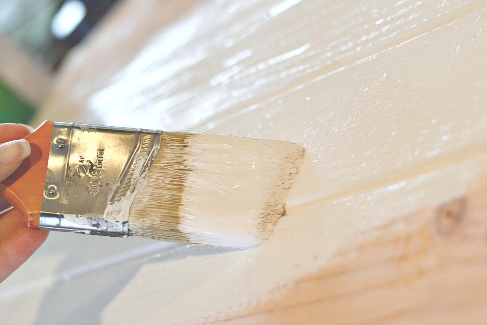 Hanging Nightstand Painting
