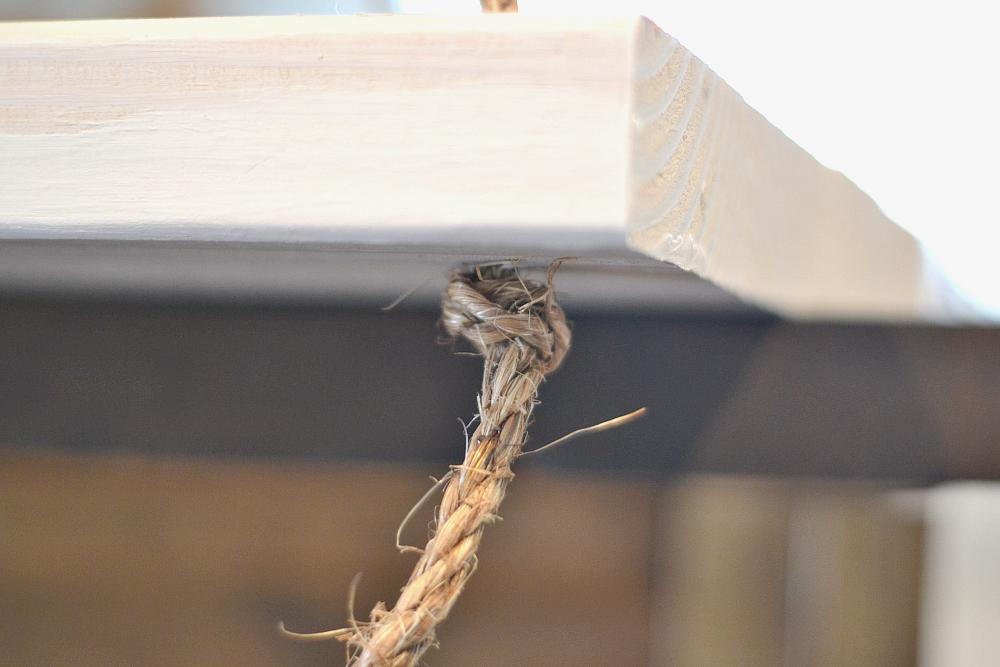 Hanging Nightstand Tie the knot