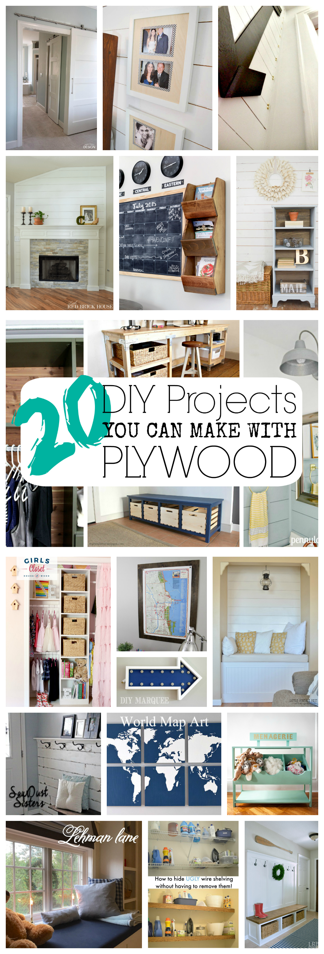 Plywood Projects - The Weathered Fox