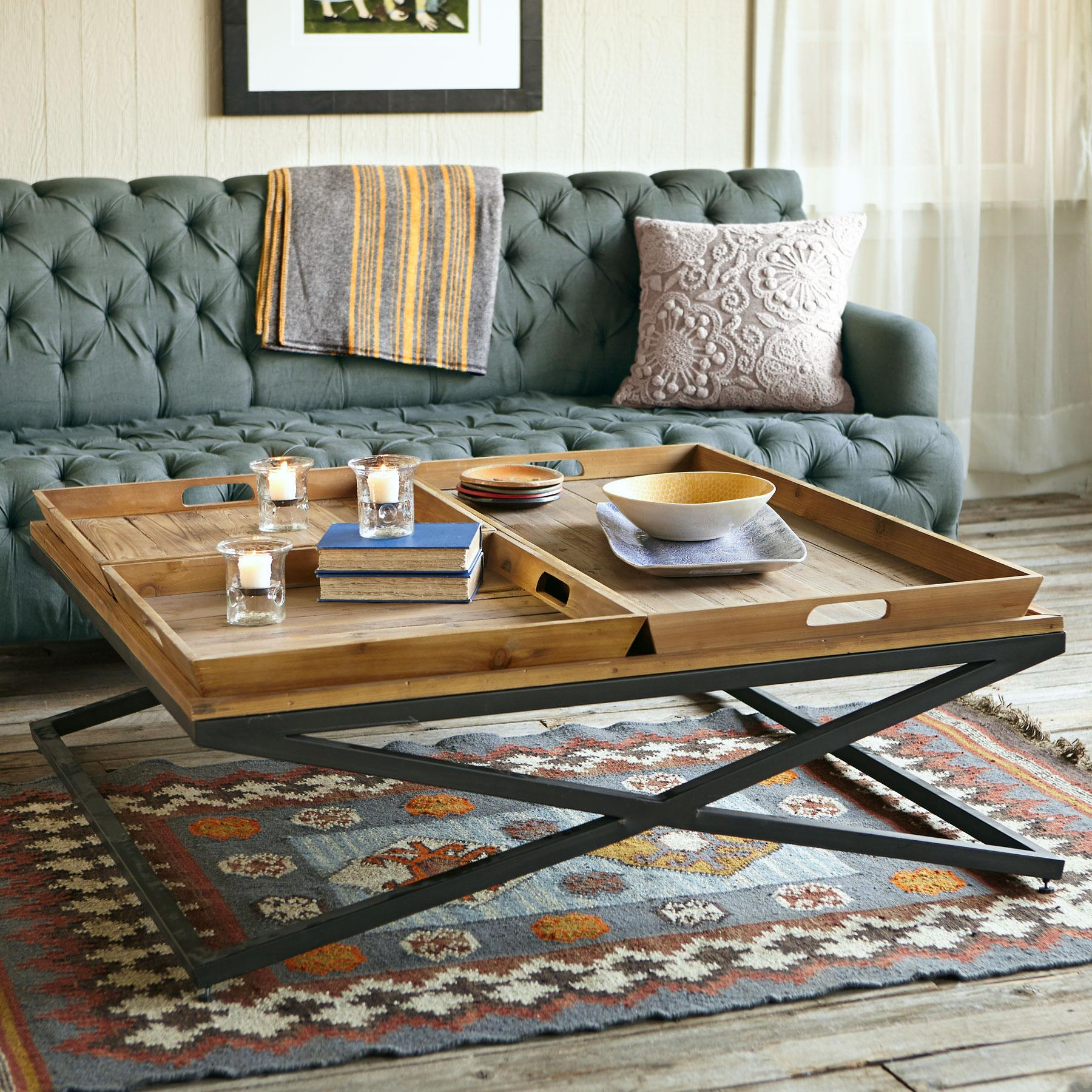 Fixer Upper Shotgun House Loft Coffee Table