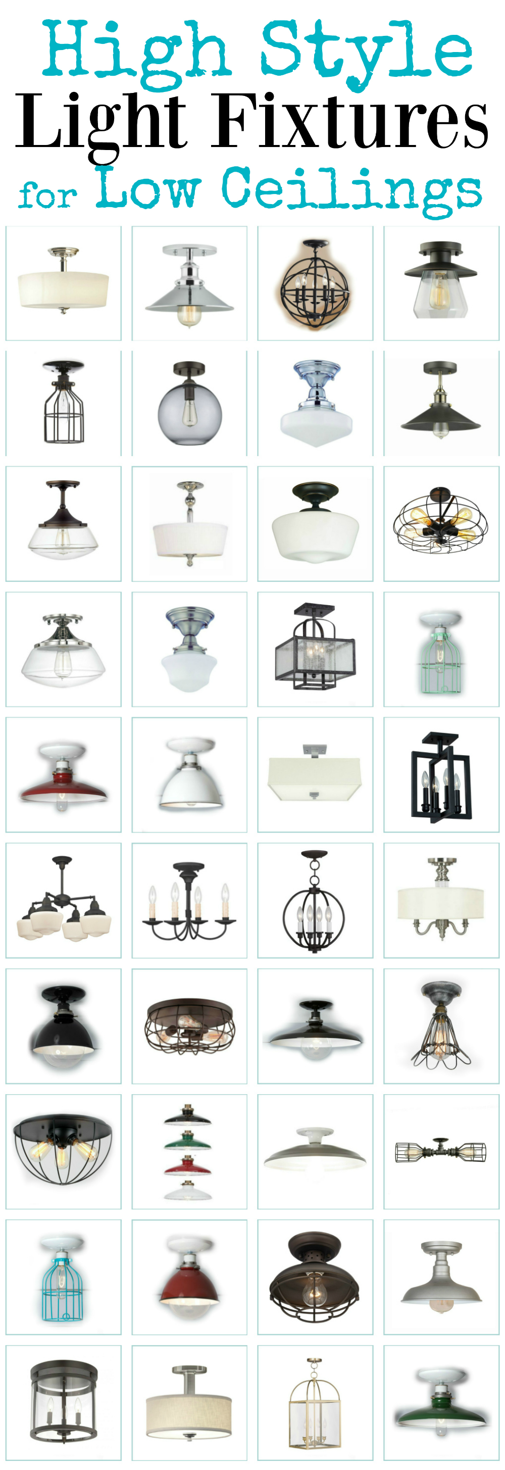 Picture of: These Gorgeous High Style Ceiling Lights Will Dress Up A Low Ceiling The Weathered Fox