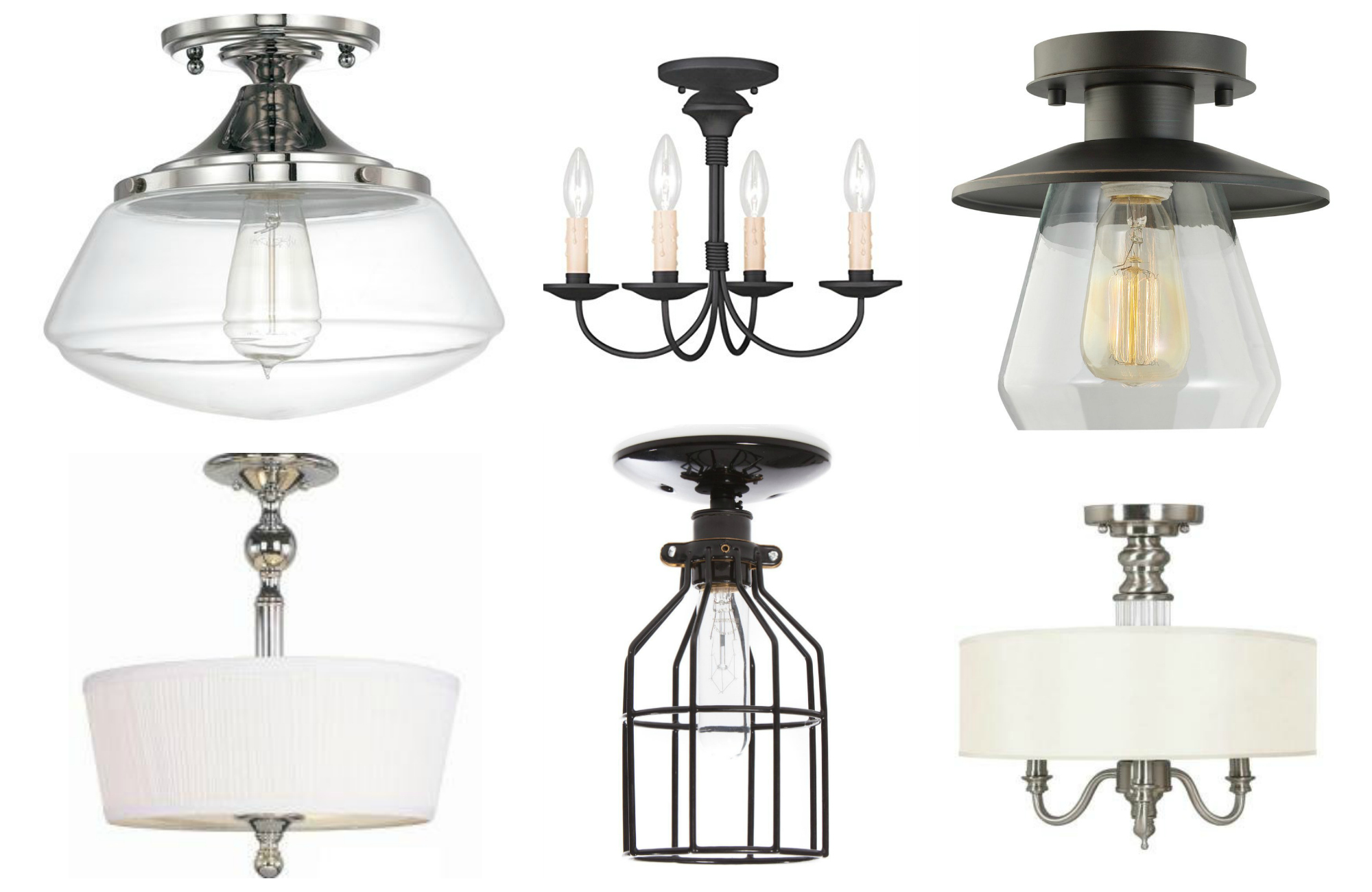 These Gorgeous High Style Ceiling Lights Will Dress Up a Low Ceiling ...