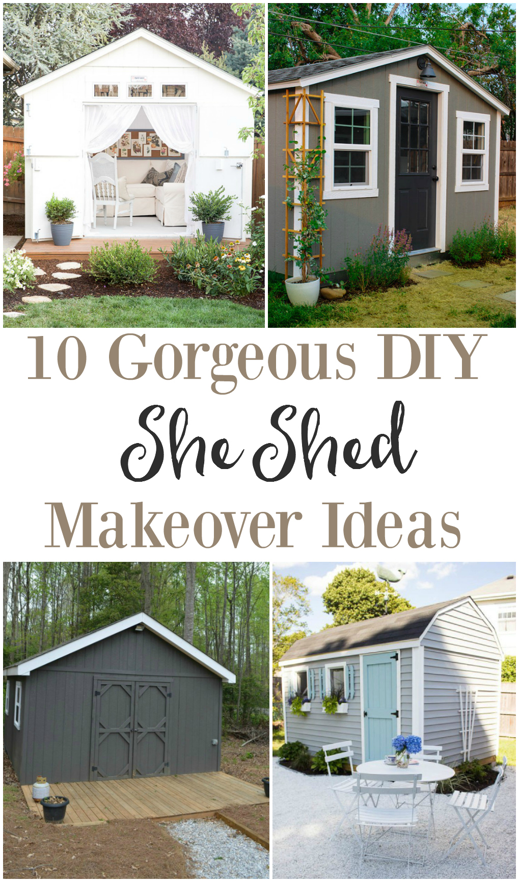 She Shed Makeover Ideas - The Weathered Fox