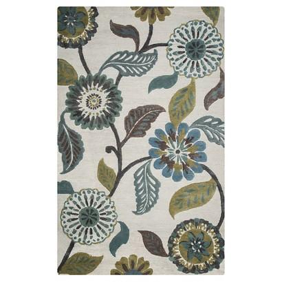 Fixer Upper Floral Rug