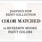 Fixer Upper Paint Colors Color Matched