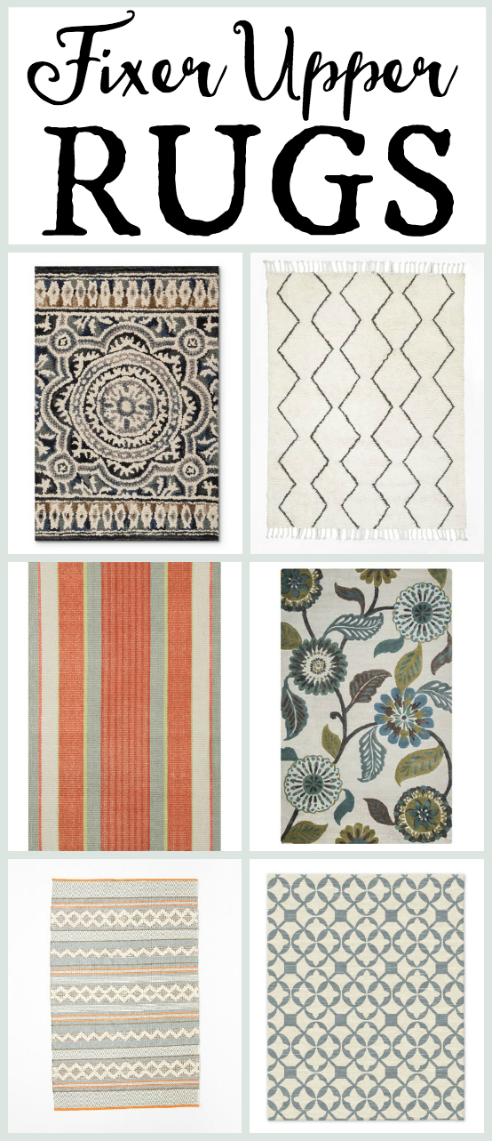 14 Rugs Found On Fixer Upper That You Can Buy Online