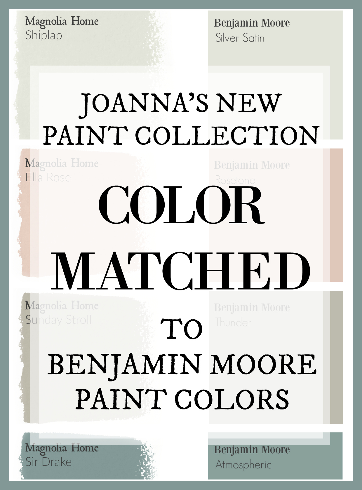 Fixer Upper Paint Colors Magnolia Home Paint Color Matched to