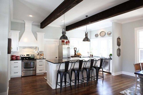 Kitchen And Dining Room Living Fixer Upper