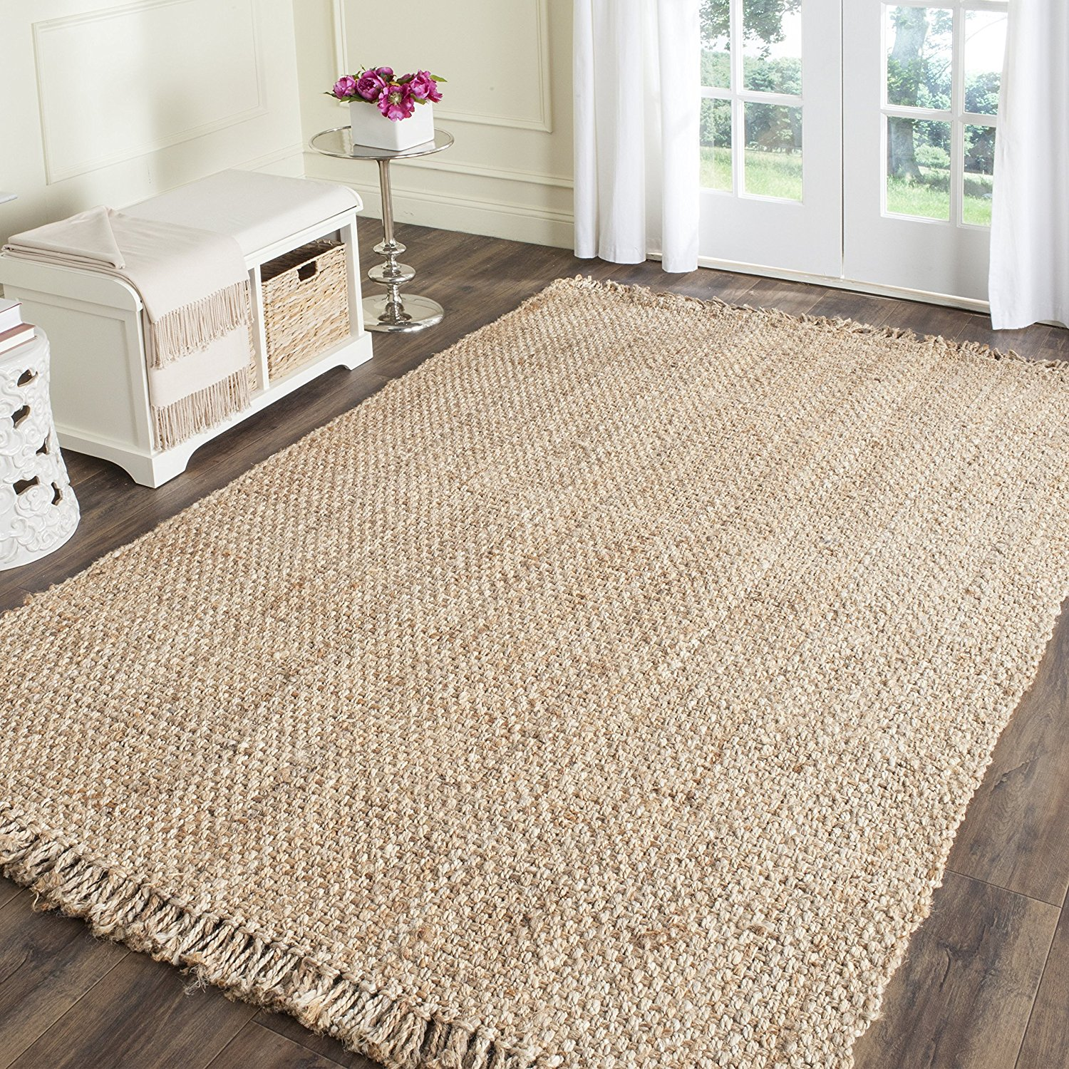 Season 1 Episode 1 Fixer Upper Sitting Room Jute Rug