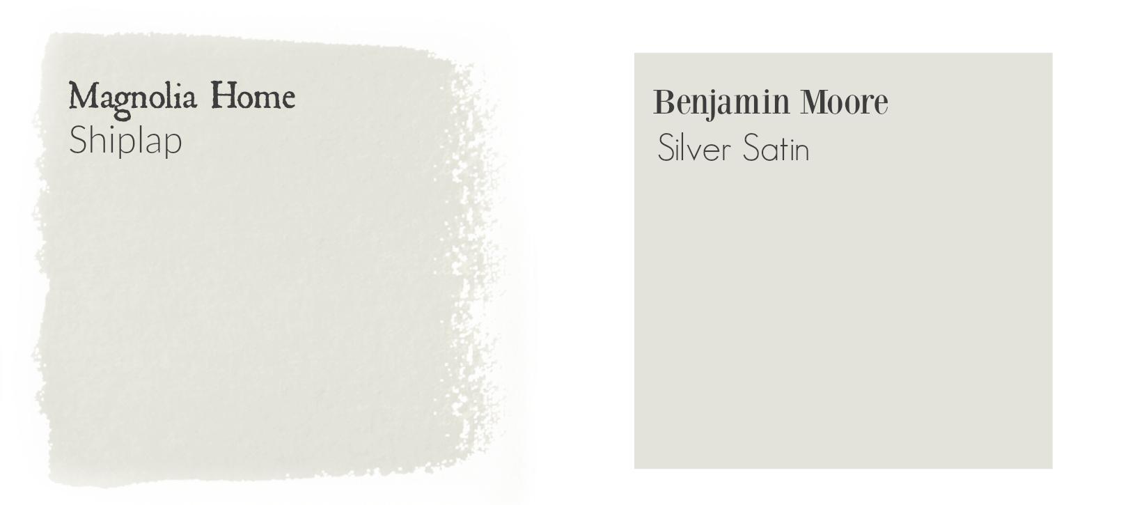 Shiplap paint match