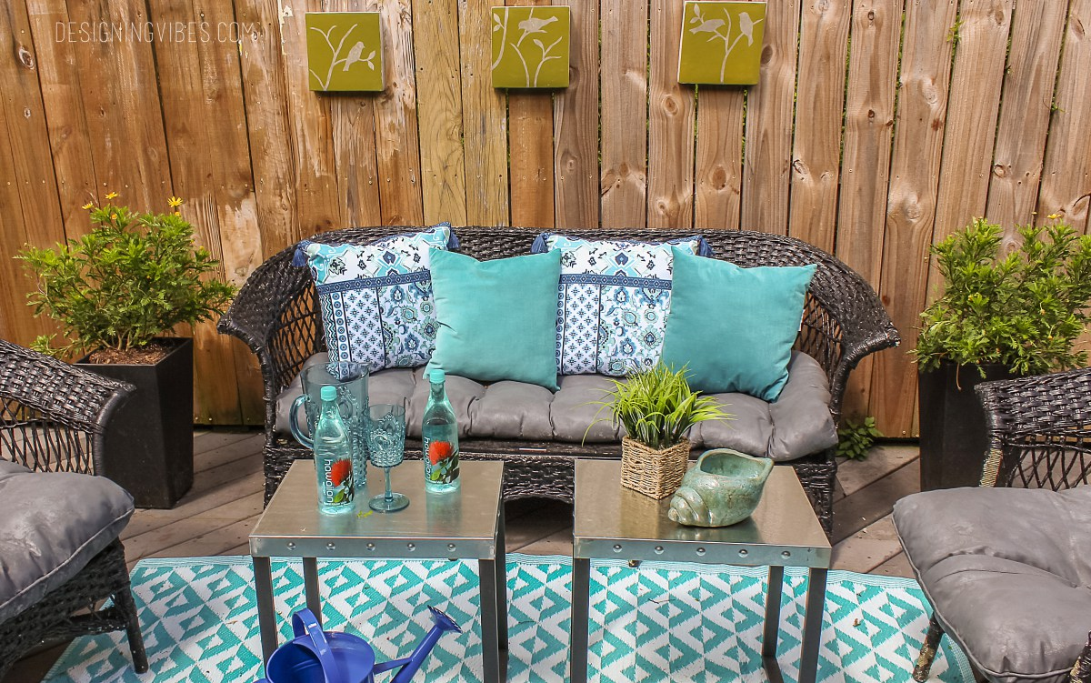 Outdoor Furniture Makeovers Using Just Paint