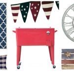 Patriotic Patio Decor