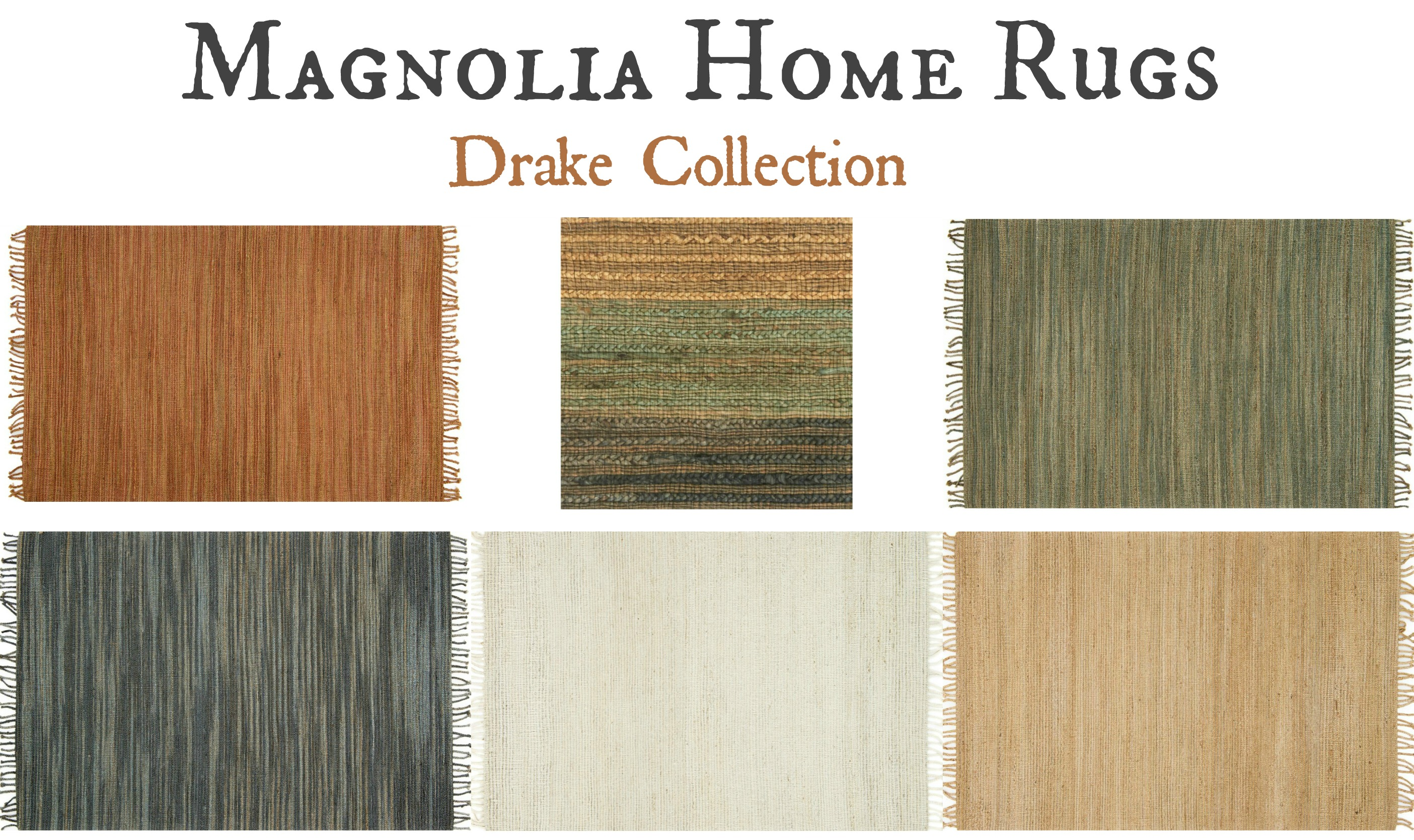 Magnolia Home Rugs Drake Collection