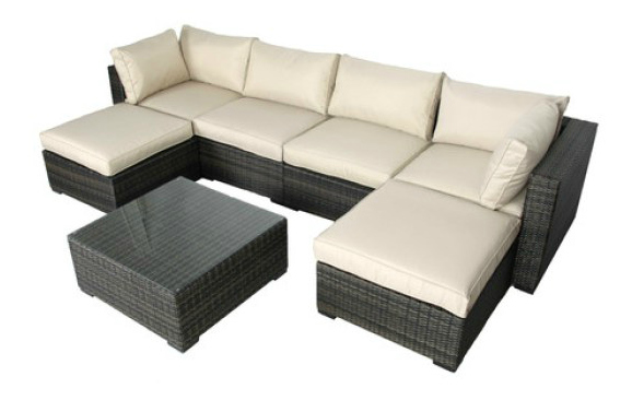 South+Hampton+7+Piece+Sectional+Seating+Group+with+Cushions
