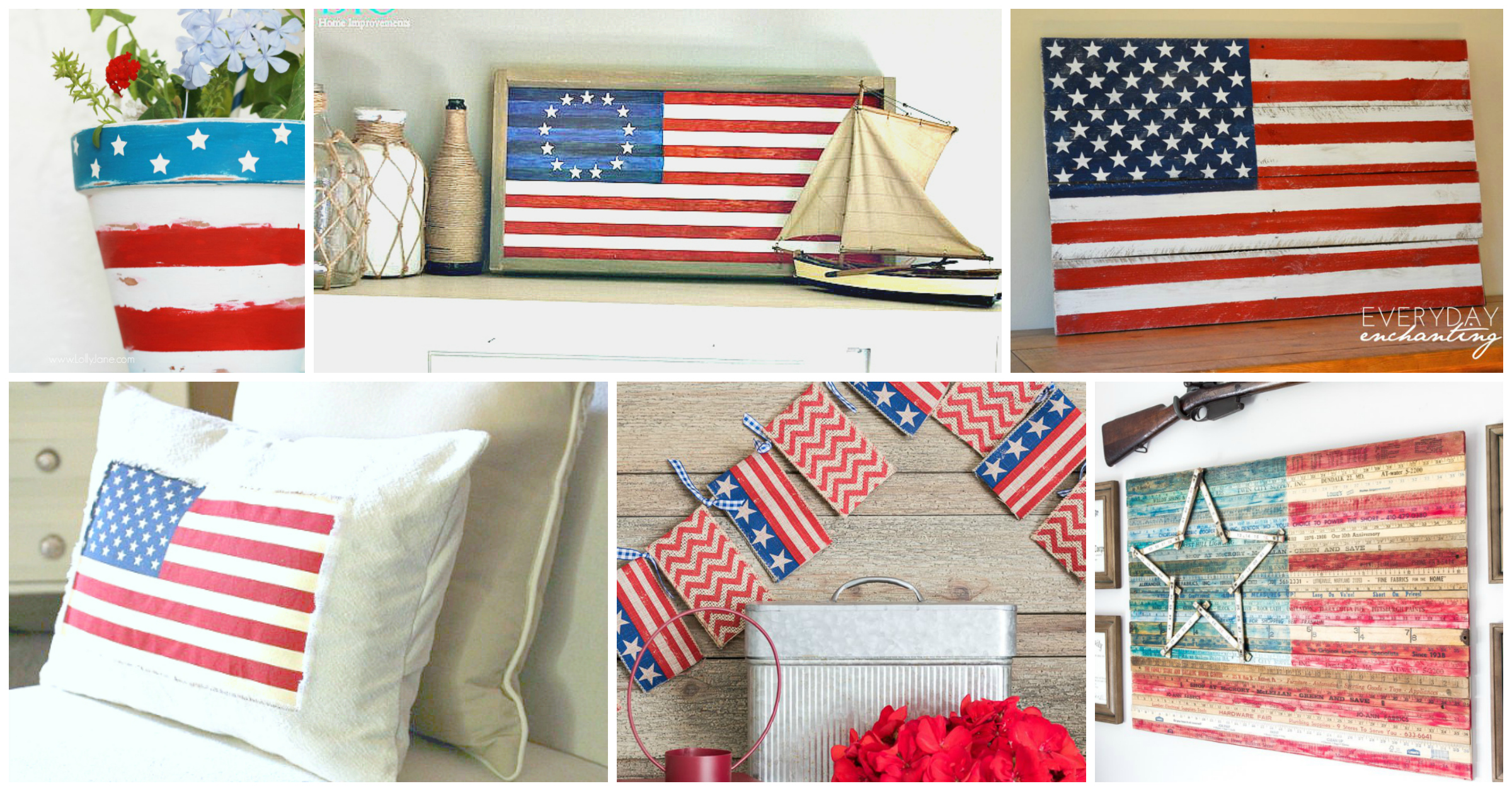 American flag decor ideas the weathered fox for American flag decoration