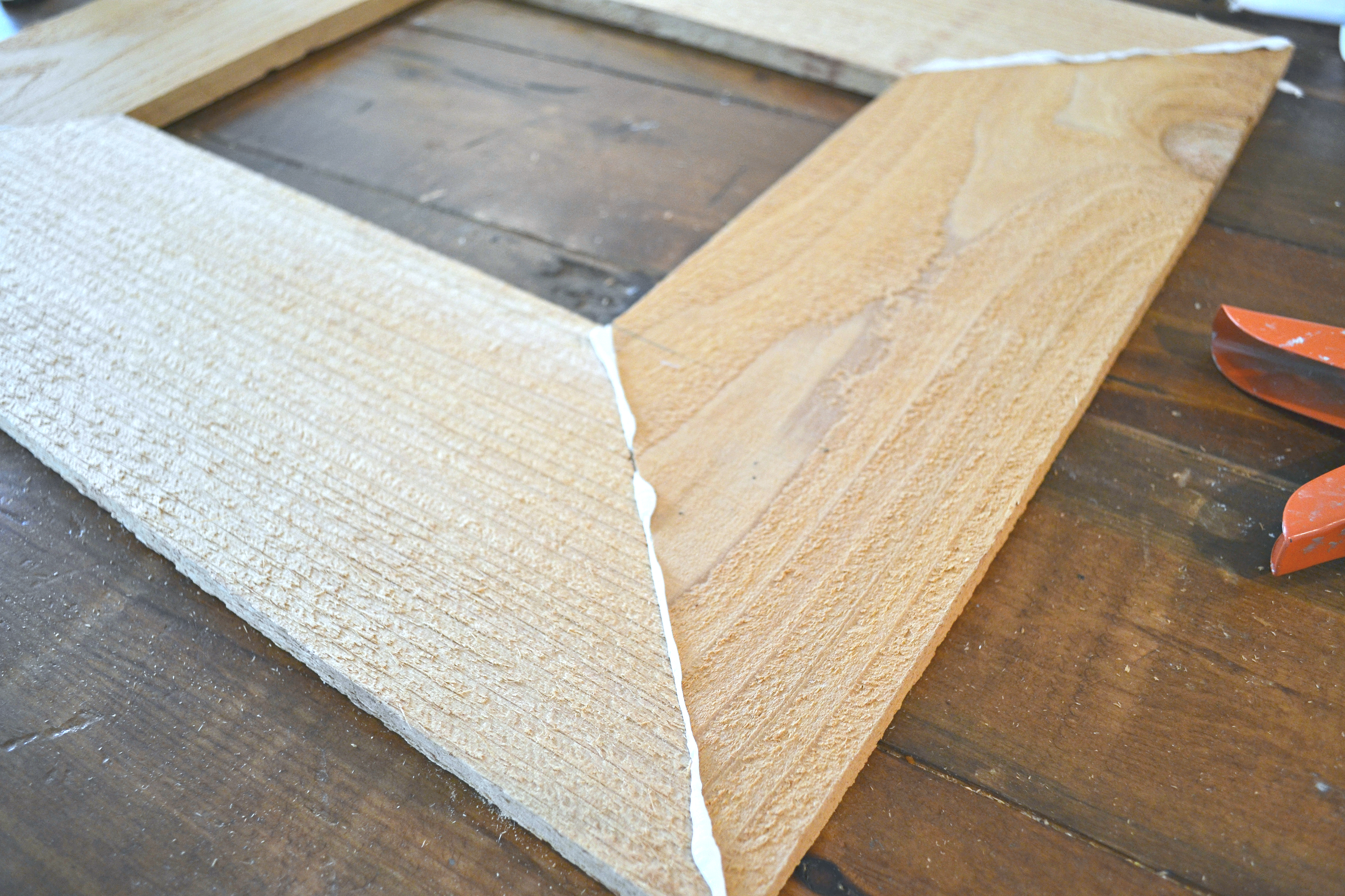 How to make your own wood frame