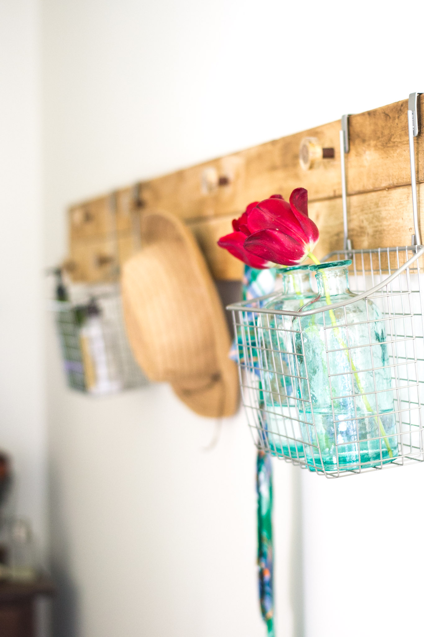 I need one of these! Rustic Wall Rack for my bedroom so I don't clutter up my floor!
