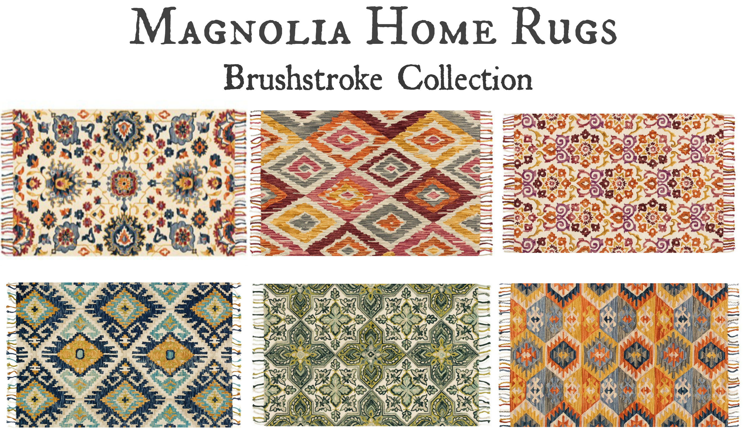 Magnolia Home Rugs Brushstroke Collection
