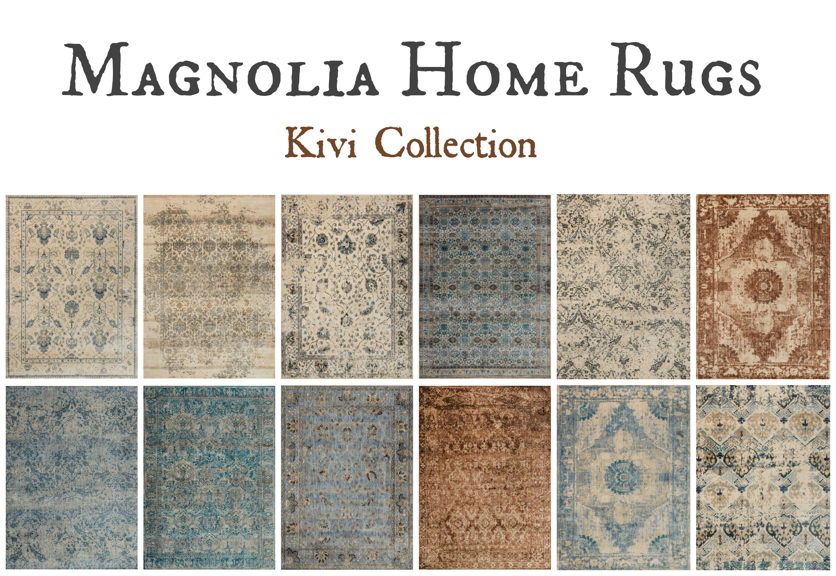 Magnolia Home Rugs Kivi Collection