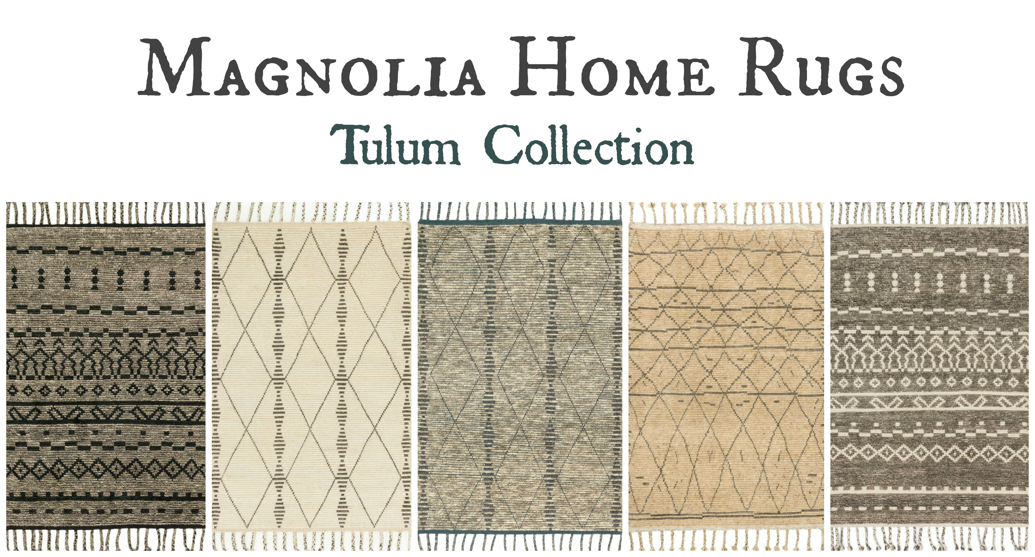 Magnolia Home Rugs Tulum Collection