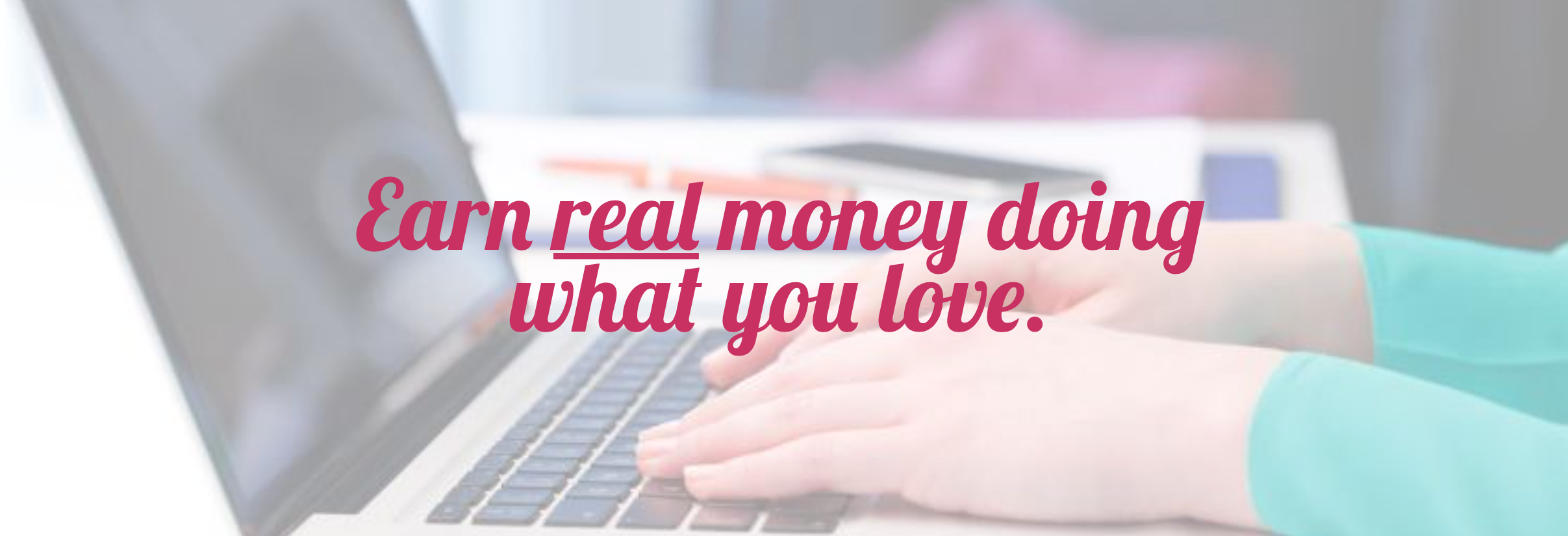 Earn real money blogging! Learn from the pros on how to make an actual income from a blog