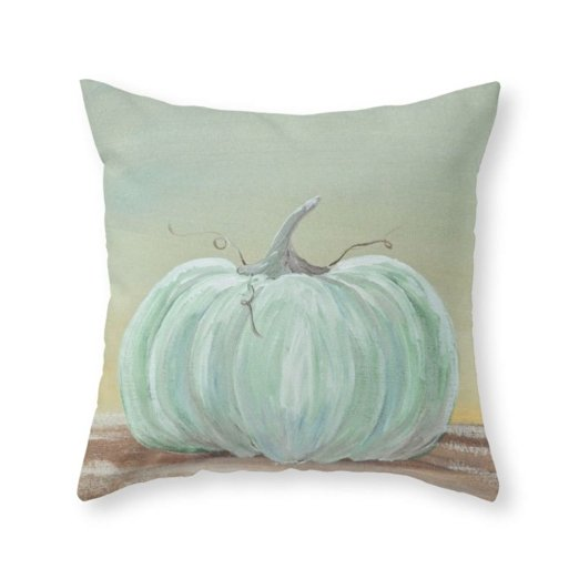 cinderella pumpkin neutral fall pillows