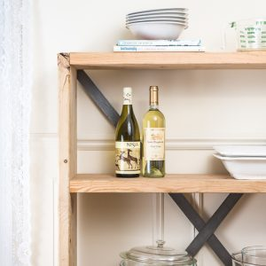 Industrial Farmhouse Pantry Shelf