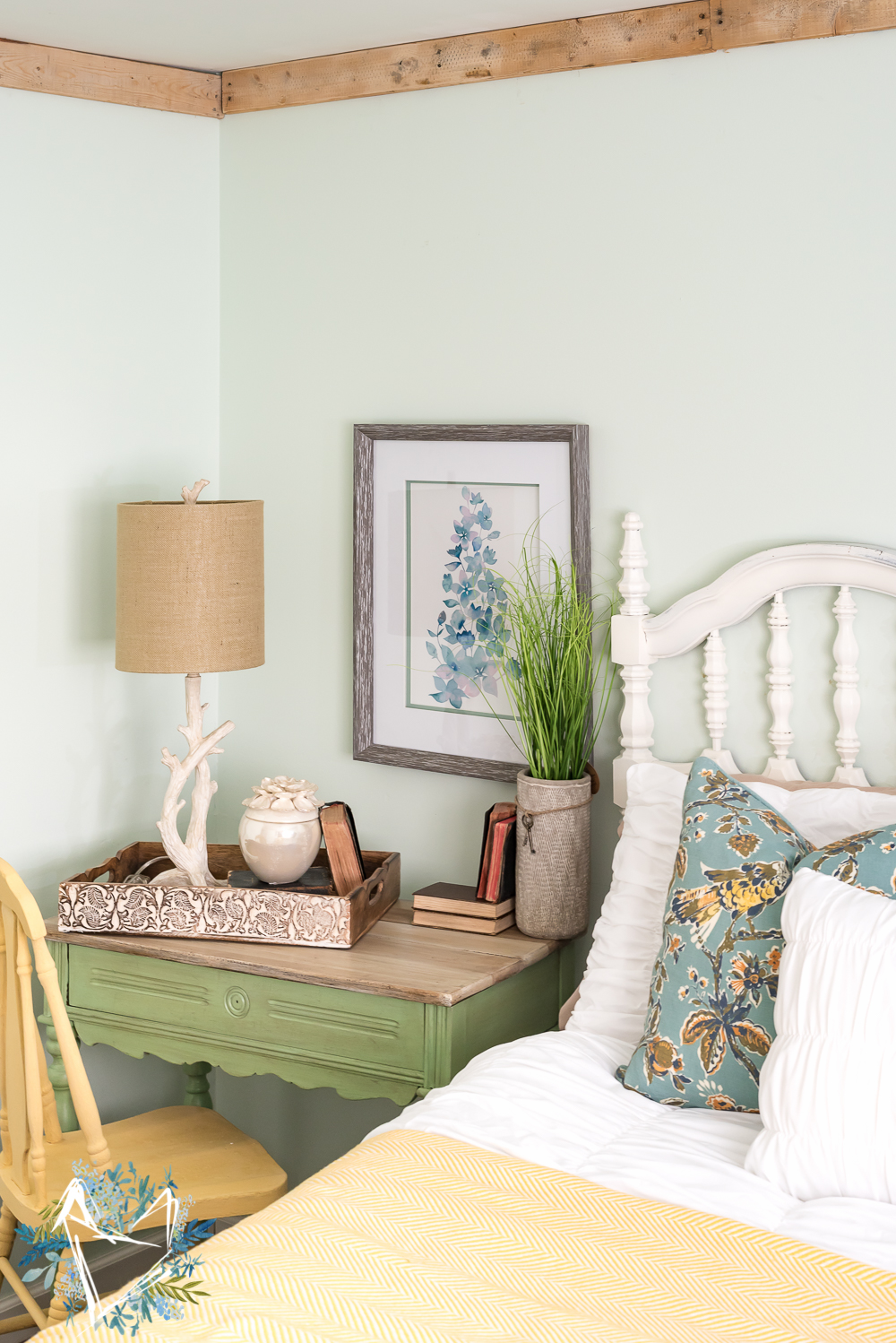 nature inspired bedroom pallet molding the weathered fox