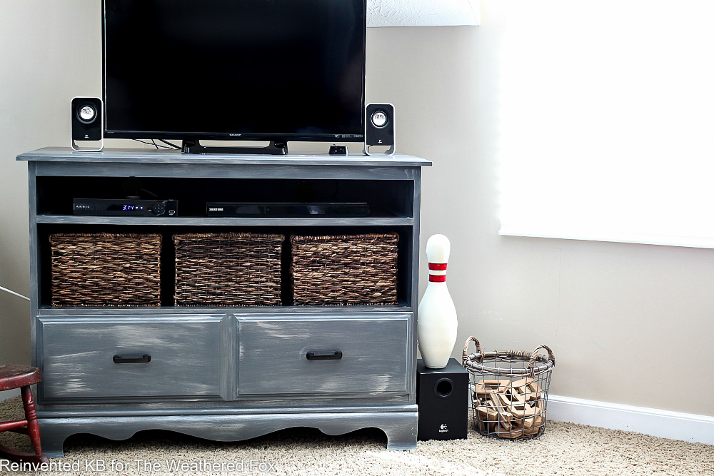 painted-dresser-tv-stand