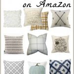 Neutral Fall Pillows on Amazon