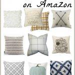 Neutral Fall Pillows on Amazon