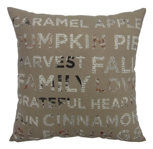 caramel apple pillow neutral fall pillows