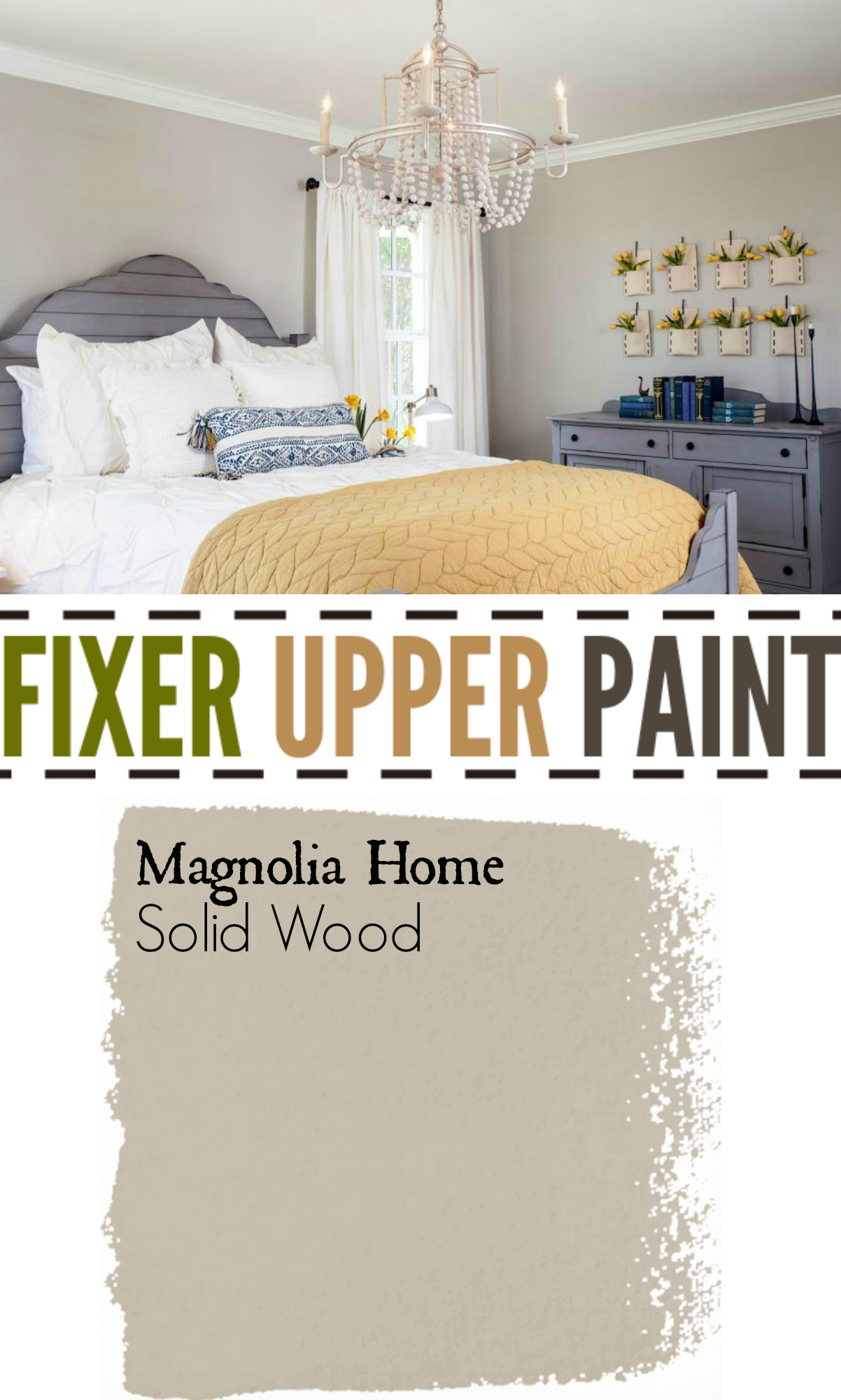 Fixer Upper Paint Color Solid Wood