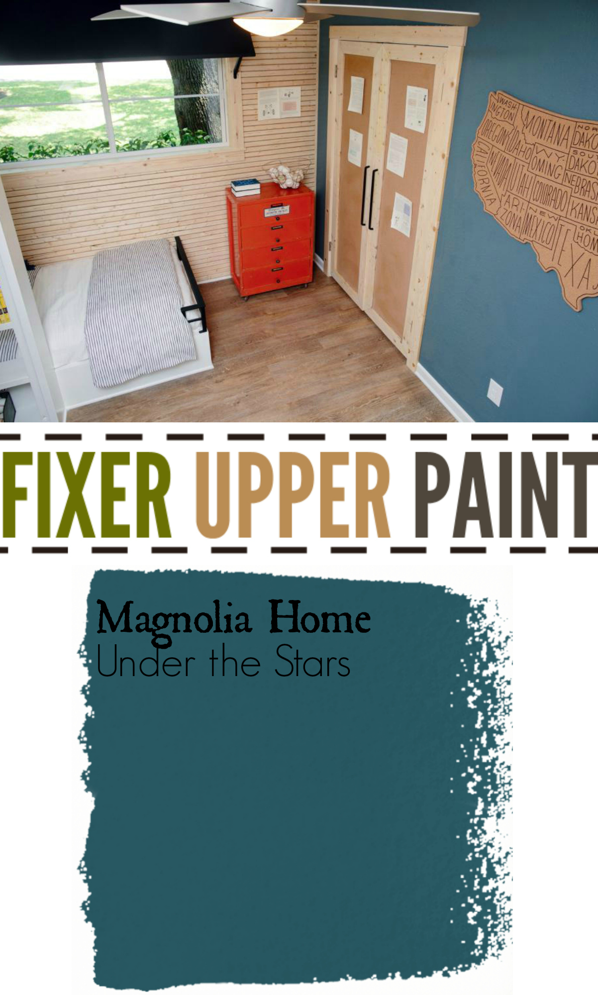 Fixer Upper Paint Colors Under The Stars