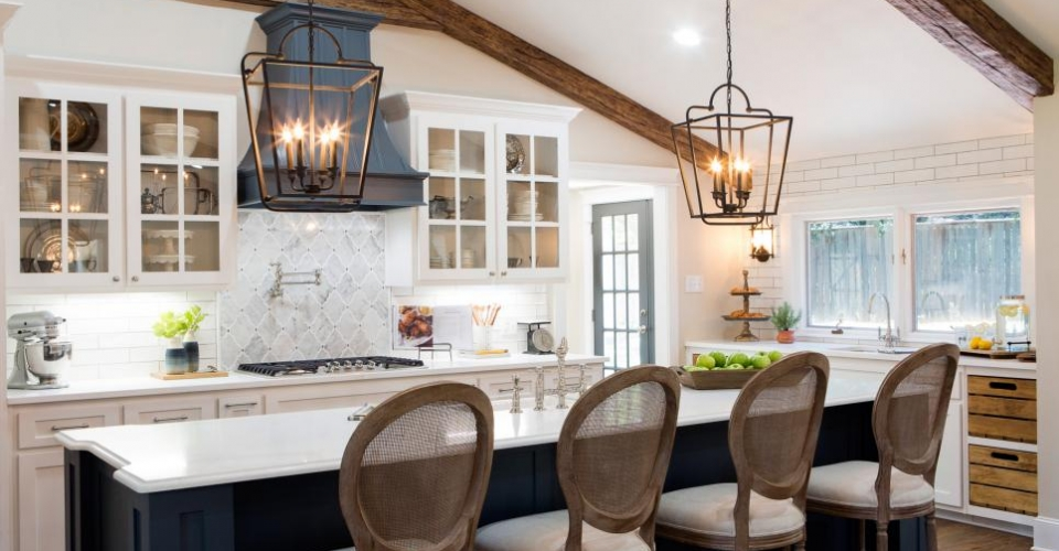 Fixer Upper Lighting For Your Home The Weathered Fox Kitchen Season 4 Episode 1