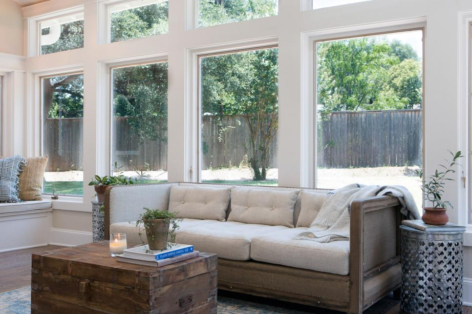 Fixer Upper Season 4 Episode 1 Sunroom - The Weathered Fox