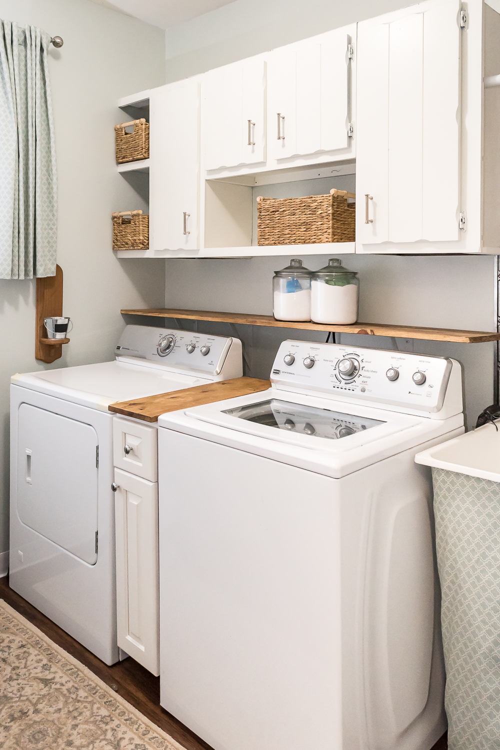 This 300 Laundry Room Makeover Will Make Your Jaw Drop The Weathered Fox